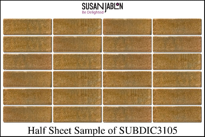 Half Sheet Sample of SUBDIC3105