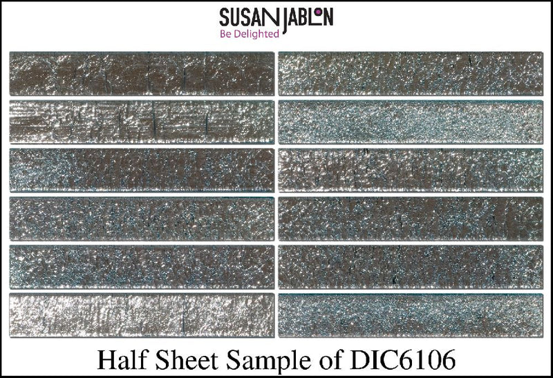 Half Sheet Sample of DIC6106