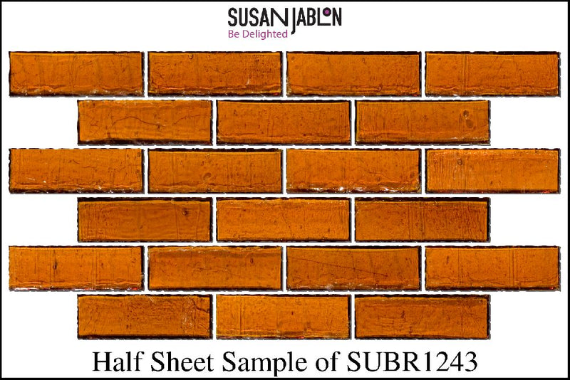 Half Sheet Sample of SUBR1243