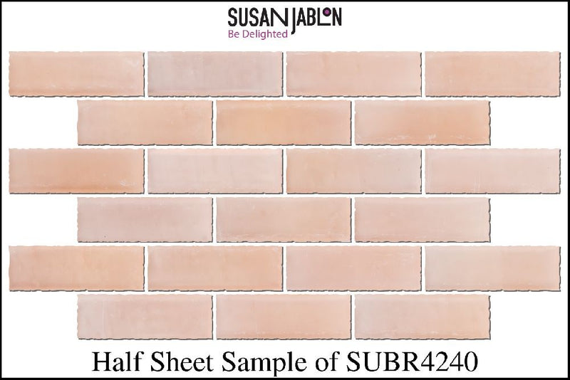 Half Sheet Sample of SUBR4240