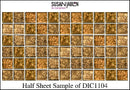 Half Sheet Sample of DIC1104
