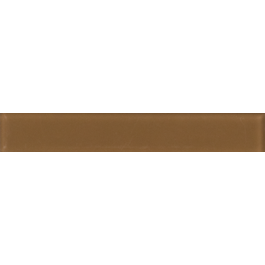 1x6 Subway Mocha Brown Frosted Glass Tile