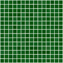 3/4 Inch Christmas Tree Green 2 Glass Tile