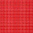 1 Inch Watermelon Pink Glass Tile