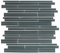 Gray Linear Glass Tile
