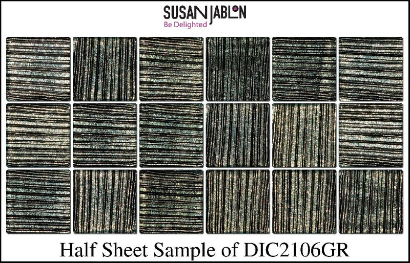 Half Sheet Sample of DIC2106GR