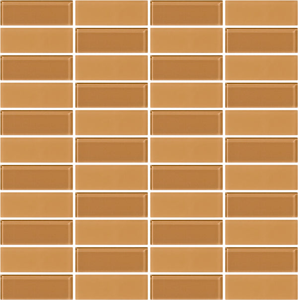 Tuxedo Light Peach Mosaic Tile Design