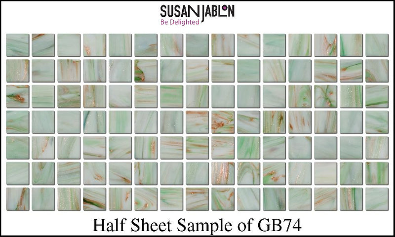 Half Sheet Sample of GB74