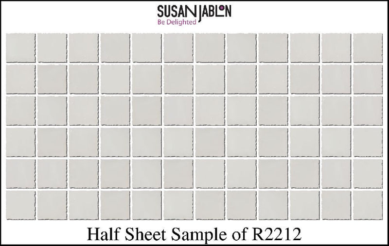 Half Sheet Sample of R2212