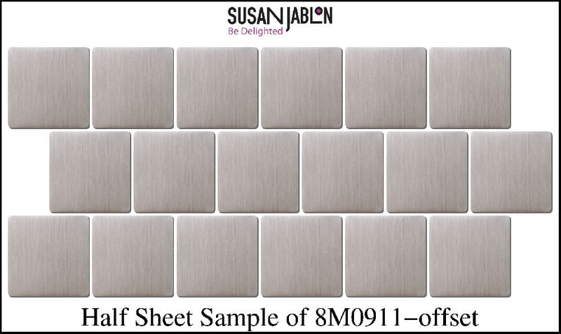 Half Sheet Sample of 8M0911-offset