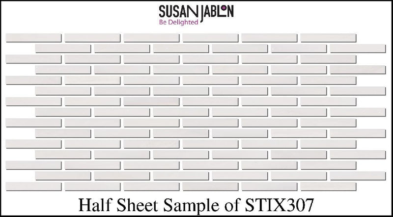Half Sheet Sample of STIX307