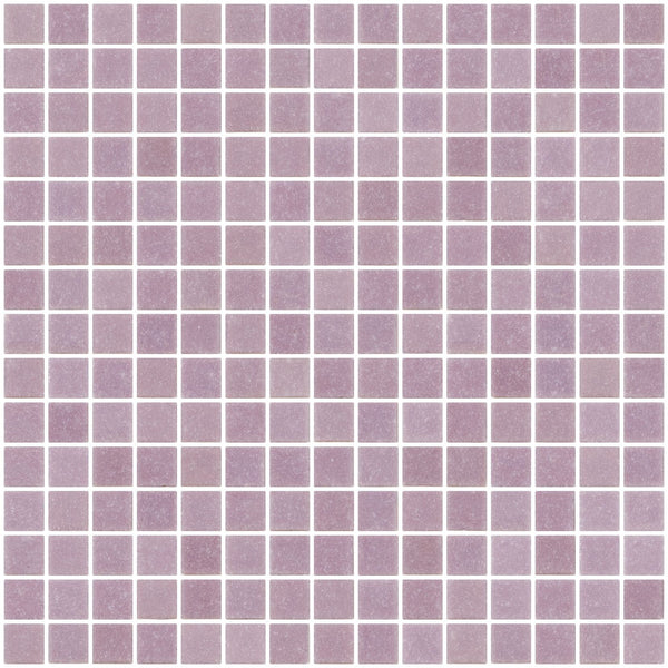 3/4 Inch Lavender Purple Glass Tile