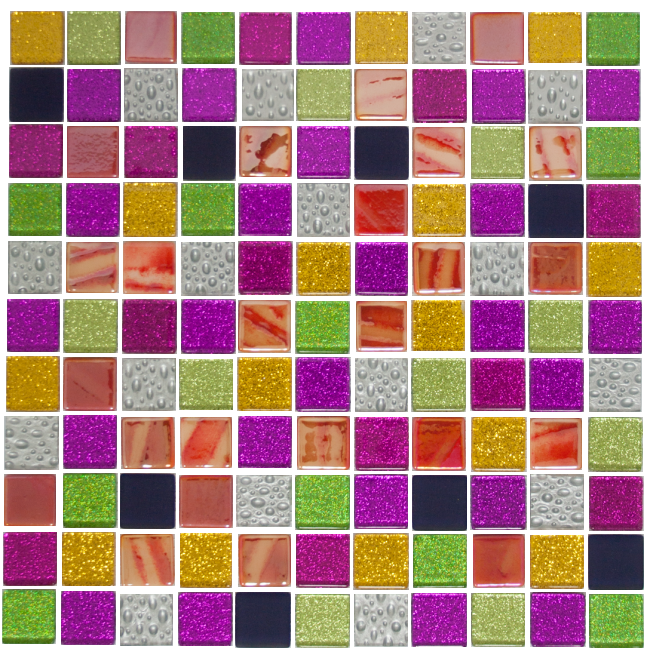 Exotica Glass Mosaic Tile Blend