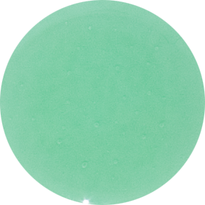 2 Inch Round Mint Semi-Transparent Fused Glass Accent Tile