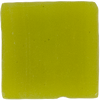 Sample of 1 Inch Chartreuse Opaque Glass Tile