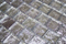 1 Inch Lavender Pearl Metallic Glass Tile Reset In Offset Layout