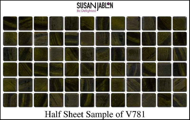 Half Sheet Sample of V781