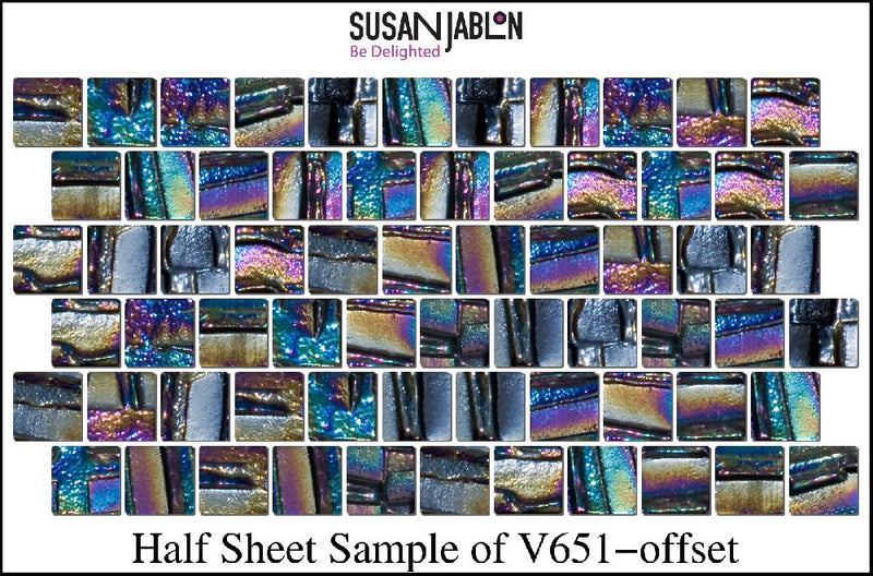 Half Sheet Sample of V651-offset