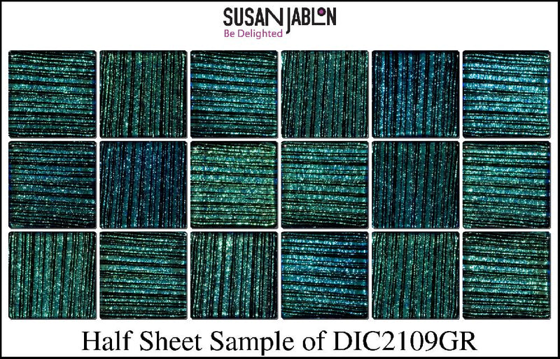 Half Sheet Sample of DIC2109GR