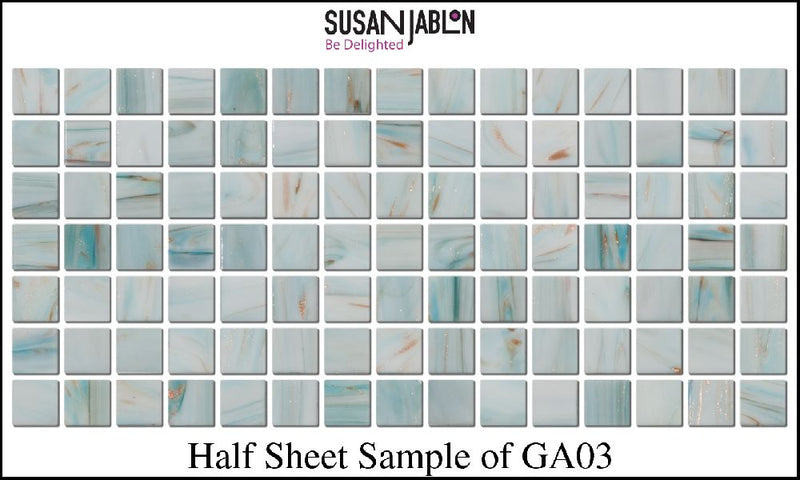 Half Sheet Sample of GA03