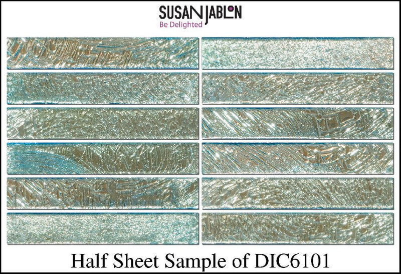 Half Sheet Sample of DIC6101
