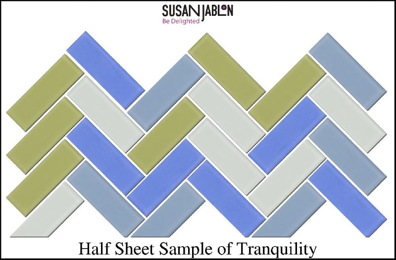 Half Sheet Sample of Tranquility