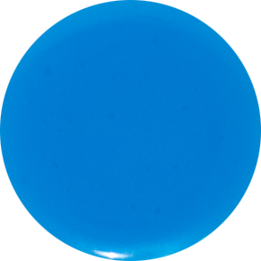2 Inch Round Blue Semi-Transparent Fused Glass Accent Tile