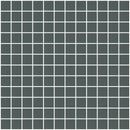 1 Inch Dark Gray Mirrored Glass Tile