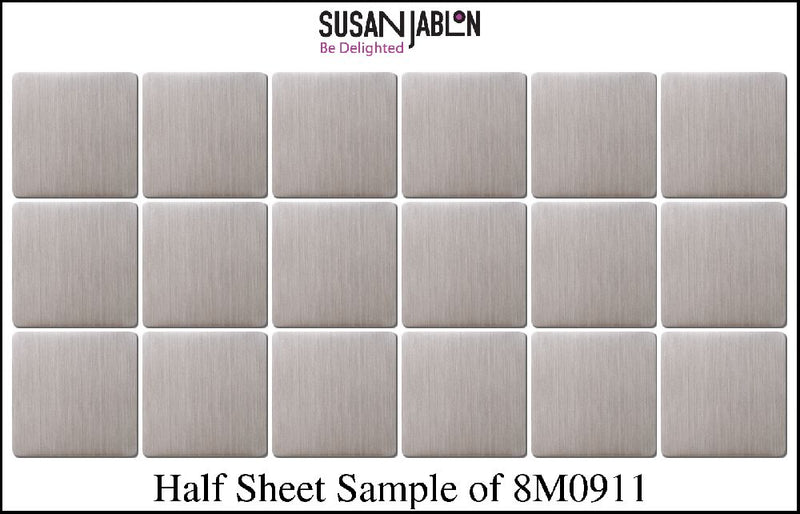Half Sheet Sample of 8M0911