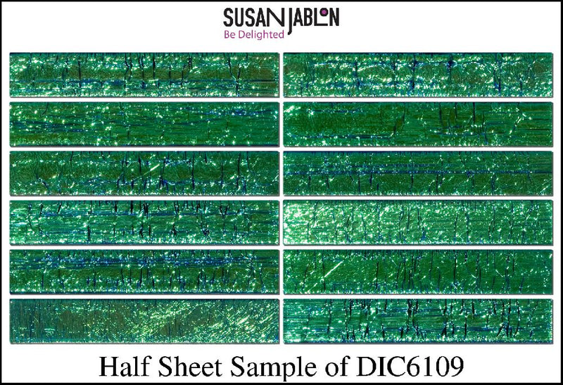 Half Sheet Sample of DIC6109