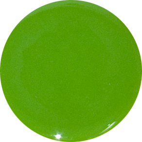 2 Inch Round Apple Opaque Fused Glass Accent Tile