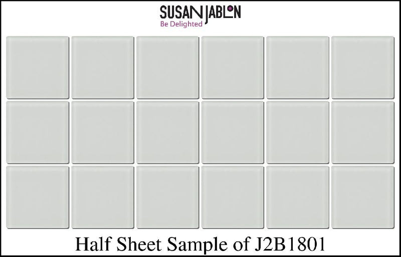 Half Sheet Sample of J2B1801