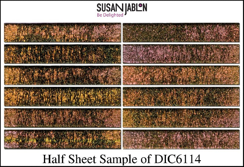 Half Sheet Sample of DIC6114