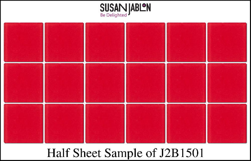 Half Sheet Sample of J2B1501