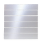 2x12 Inch Silver Mirrored Glass Tile
