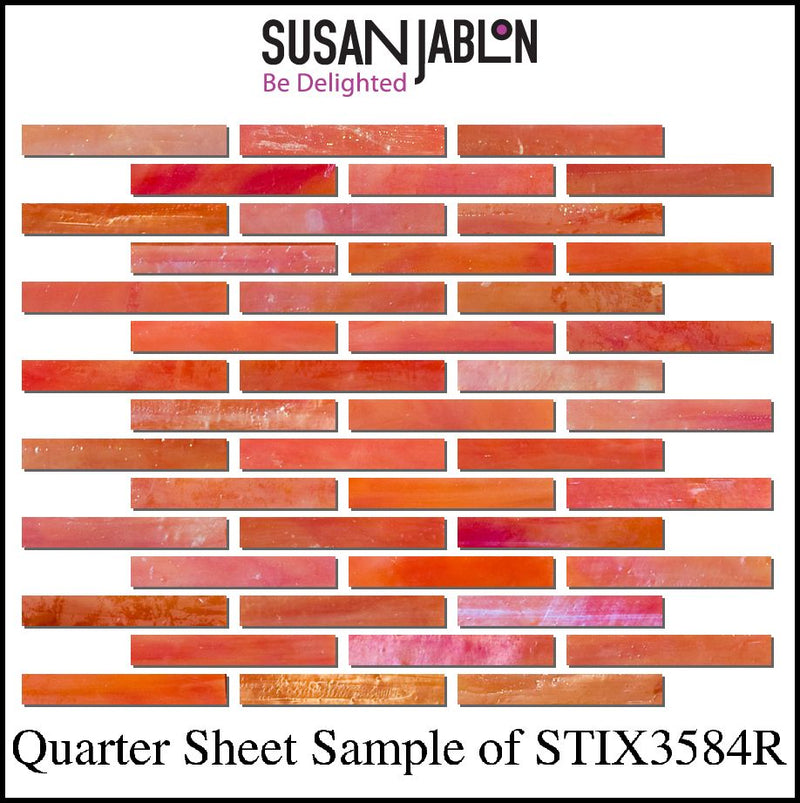 Quarter Sheet Sample of STIX3584R