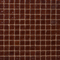 1 Inch Transparent Red Brown Glass Tile