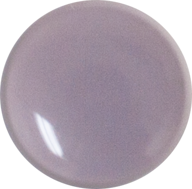 1 Inch Round Dusty Lilac Opaque Fused Glass Accent Tile