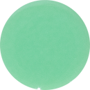 2 Inch Round Mint Opaque Fused Glass Accent Tile