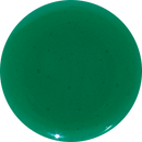 2 Inch Round Emerald Semi-Transparent Fused Glass Accent Tile
