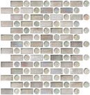 Clear Iridescent Glass Tile Mix