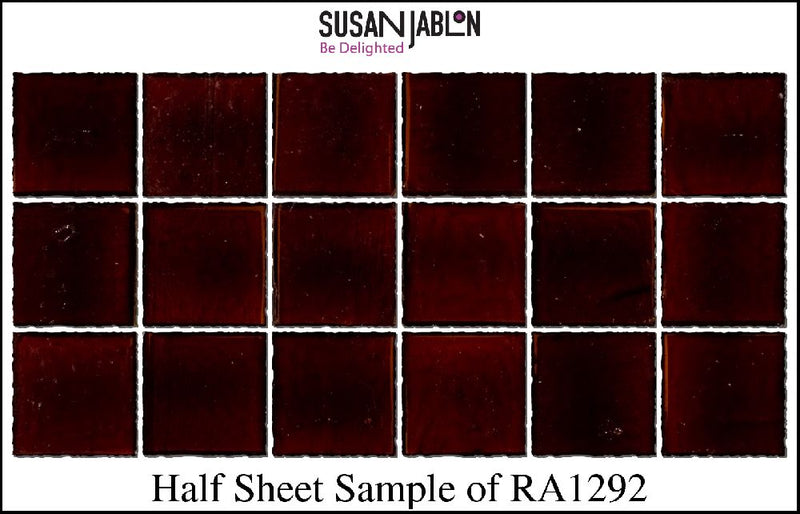Half Sheet Sample of RA1292