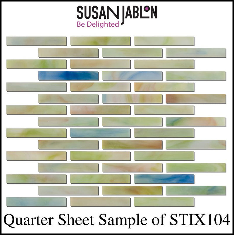 Quarter Sheet Sample of STIX104