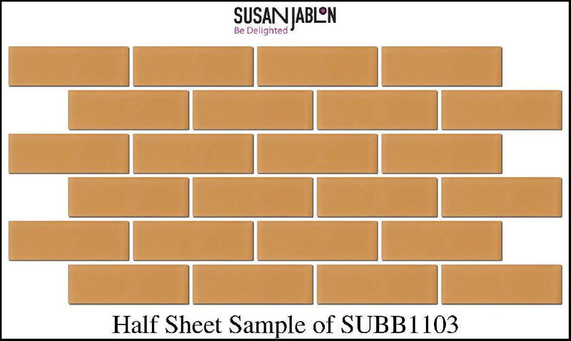 Half Sheet Sample of SUBB1103