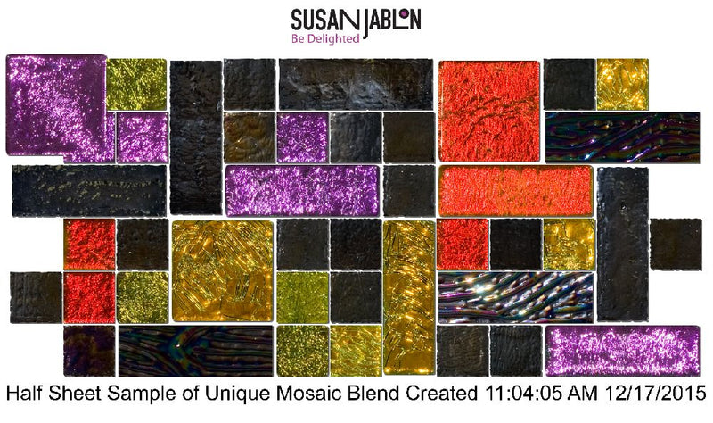 Half Sheet Sample of Unique Mosaic Blend Created 11:04:05 AM 12/17/2015