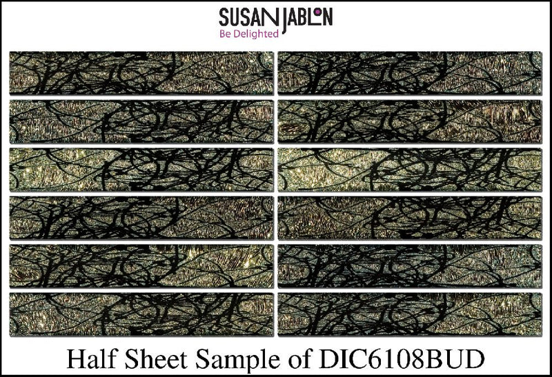 Half Sheet Sample of DIC6108BUD