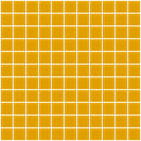 1 Inch Dark Yellow Glass Tile