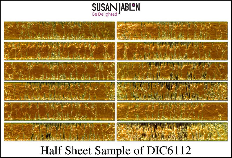 Half Sheet Sample of DIC6112