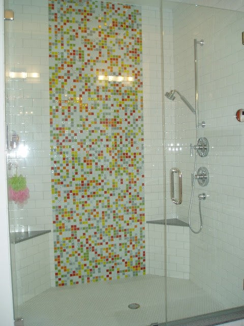 Custom Colorful Glass Tile Mix