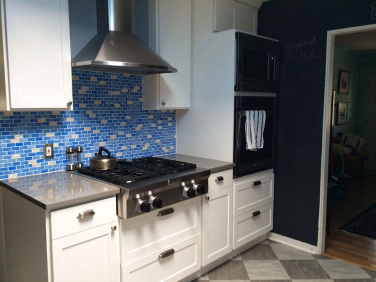 Custom Design Kitchen Backsplash